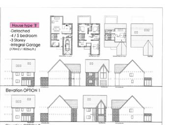 Thumbnail 5 bedroom detached house for sale in Plot 3, Waterton Lane, Waterton, Bridgend.