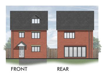 Thumbnail 4 bed detached house for sale in Moor Road, Orrell, Wigan