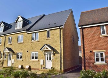 Thumbnail 3 bed terraced house for sale in Milbourne Way, Chippenham, Wiltshire