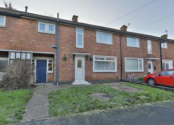Thumbnail 3 bed terraced house for sale in Sandcroft Close, York