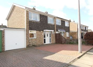 Thumbnail 3 bedroom semi-detached house for sale in Brough Close, Thornaby, Stockton-On-Tees, Durham