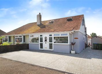Thumbnail 4 bed semi-detached house for sale in Warren Crescent, East Preston, West Sussex