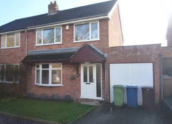 Thumbnail 3 bed semi-detached house to rent in Barn Bank Lane, Stafford