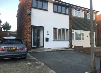 Thumbnail 3 bed semi-detached house to rent in Nunns Way, Grays, Essex