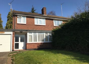 Thumbnail 3 bed semi-detached house to rent in Holden Road, Woodside Park