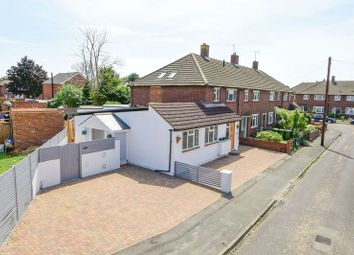 Thumbnail 2 bed semi-detached bungalow for sale in Carlton Road, Walton-On-Thames