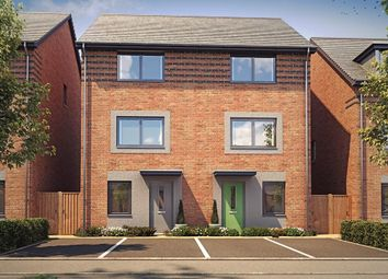 """Thumbnail 4 bed semi-detached house for sale in """"Hawley"""" at Langaton Lane, Pinhoe, Exeter"""
