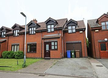 Thumbnail 4 bedroom semi-detached house for sale in Beechwood Views, Roos, Hull