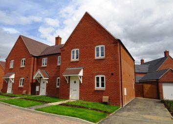 Thumbnail 3 bedroom end terrace house for sale in Blackhorse Drive, Old Stratford, Milton Keynes
