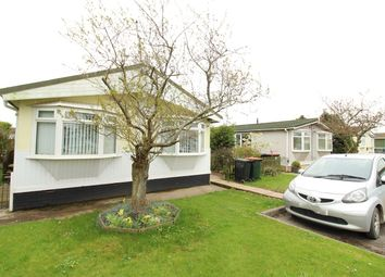 Thumbnail 2 bed mobile/park home for sale in Lighthouse Park, St Brides Wentlooge, Newport