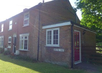 Thumbnail 2 bed end terrace house to rent in Brook End, Weston Turville