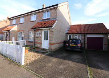 Thumbnail 4 bedroom semi-detached house for sale in Millers Drive, Dickleburgh, Diss