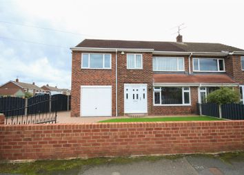 Thumbnail 5 bed semi-detached house for sale in Ashburnham Gardens, Sprotbrough, Doncaster