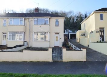 Thumbnail 3 bed semi-detached house for sale in Sherwell Valley Road, Torquay