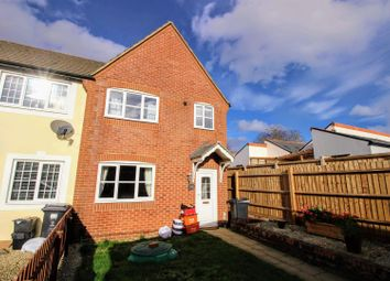 Thumbnail 3 bedroom end terrace house for sale in May Close, Gorse Hill, Swindon
