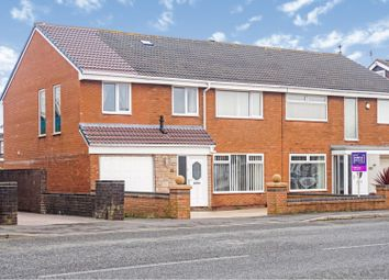 Thumbnail 4 bed semi-detached house for sale in Ashfield Road, Thornton-Cleveleys