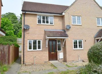 Thumbnail 2 bedroom end terrace house for sale in La Salle Close, Ipswich