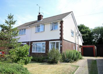 Thumbnail 4 bed semi-detached house to rent in Chandler Road, Basingstoke