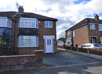Thumbnail 3 bed semi-detached house for sale in Fulmar Drive, Sale, Trafford, Greater Manchester