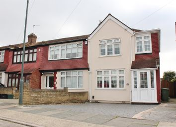 Thumbnail 3 bed end terrace house for sale in Amberley Road, Upper Abbeywood, London