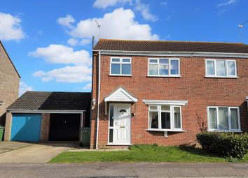 Thumbnail 3 bedroom semi-detached house for sale in Turin Way, Hopton, Great Yarmouth