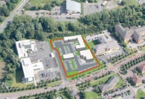 Thumbnail Office for sale in 1-3 Electra Way, Crewe