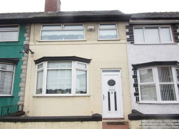 Thumbnail 3 bed terraced house for sale in Glengariff Street, Liverpool