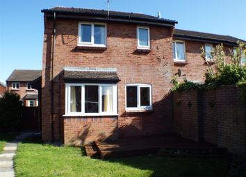 Thumbnail 1 bed end terrace house to rent in Phipps Close, Westbury