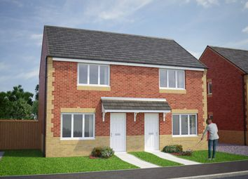 Thumbnail 2 bedroom semi-detached house for sale in Plot 96, Cork, Briar Lea Park, Longtown, Carlisle