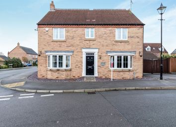 Thumbnail 4 bedroom detached house for sale in Leicester Crescent, Worksop