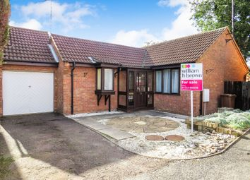 Thumbnail 2 bedroom detached bungalow for sale in Melrose Drive, Peterborough