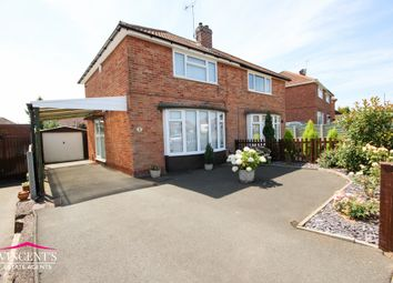 Thumbnail 2 bed semi-detached house for sale in Woodcote Road, Leicester