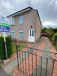 Thumbnail 3 bed flat for sale in Curtis Avenue, Glasgow