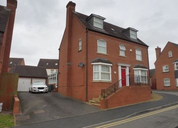 Thumbnail 5 bed detached house for sale in Harrington Croft, West Bromwich
