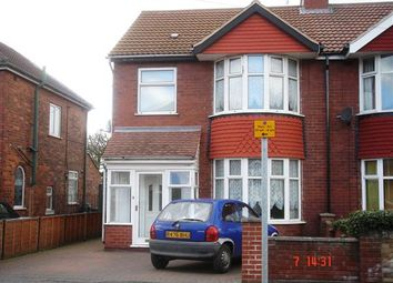 Thumbnail 3 bed semi-detached house to rent in Newland Avenue, Scunthorpe
