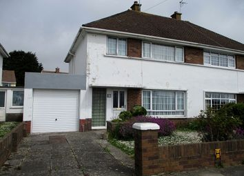 Thumbnail 3 bed semi-detached house for sale in Meadow Lane, Porthcawl