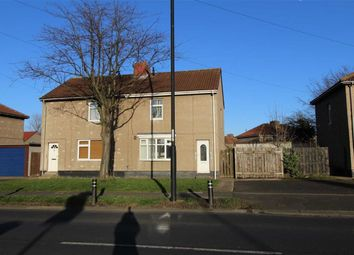 Thumbnail 2 bed semi-detached house for sale in Park Lane, Shiremoor, Newcastle Upon Tyne