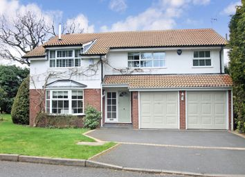 Thumbnail 4 bed detached house for sale in Greyfriars Close, Solihull