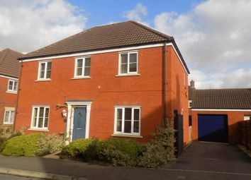 Thumbnail 4 bedroom detached house for sale in White Eagle Road, Swindon