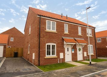 Thumbnail 2 bed semi-detached house for sale in Moor Lane, Branston, Lincoln