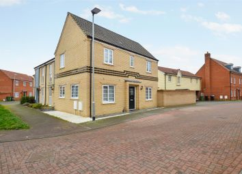 Thumbnail 3 bed end terrace house for sale in Lords Hill, Costessey, Norwich