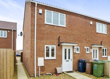 Thumbnail 2 bedroom end terrace house for sale in Chapel Gate Court, St. Pauls Close, Wisbech