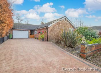 Thumbnail 3 bed detached bungalow for sale in Rectory Close, Rollesby, Great Yarmouth