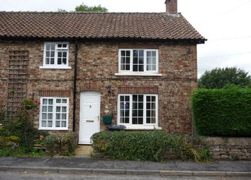 Thumbnail 2 bedroom end terrace house to rent in The Nookin, Husthwaite, York