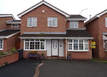 Thumbnail 4 bed detached house for sale in Willow Tree Close, Barwell, Leicester, Leicestershire