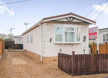 Thumbnail 2 bedroom property for sale in Pioneer Caravan Site, Thorney Road, Eye, Peterborough