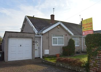 Thumbnail 3 bed semi-detached bungalow for sale in South Lawn, Locking, Weston-Super-Mare