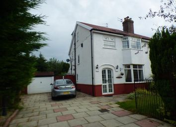Thumbnail 4 bed semi-detached house for sale in Sanvino Avenue, Southport, Merseyside