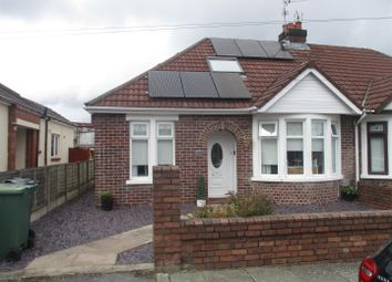 Thumbnail 3 bed semi-detached bungalow for sale in Finchley Road, Fairwater, Cardiff