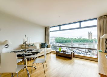 Thumbnail 2 bed flat for sale in Parliament View Apartments, Albert Embankment, Westminster